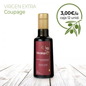 aceite virgen extra coupage