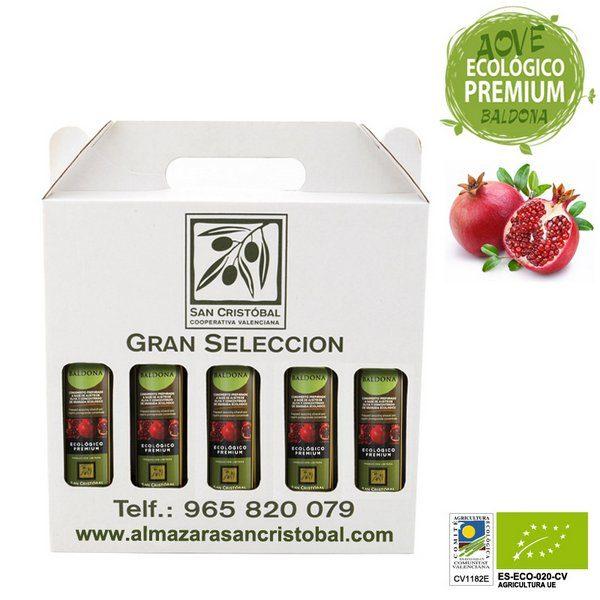 aceite de oliva con granada