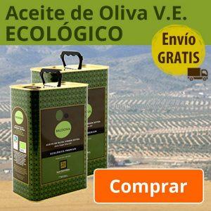Aceite de Oliva virgen extra Ecológico Baldona - Premium -