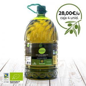 aceite de oliva ecológico baldona