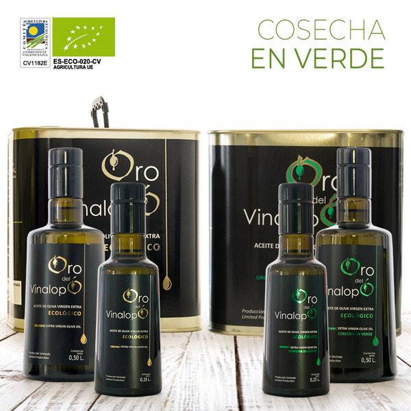 aceite de oliva ecológico gourmet oro familiar
