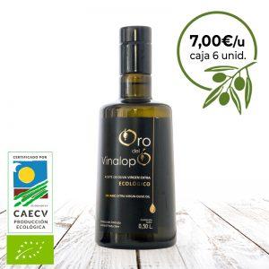 aceite ecologico en vidrio