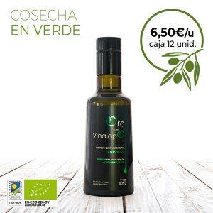 aceite de oliva ecologico oro verde