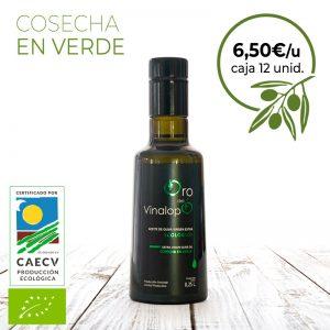 aceite de oliva verde ecologico