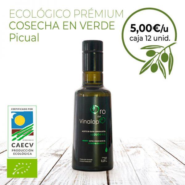 aceite de oliva ecologico premium