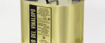 Aceite de oliva en lata Oro del Vinalopó