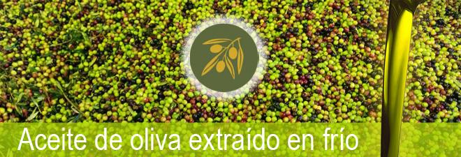 Aceite de oliva extraído en frío