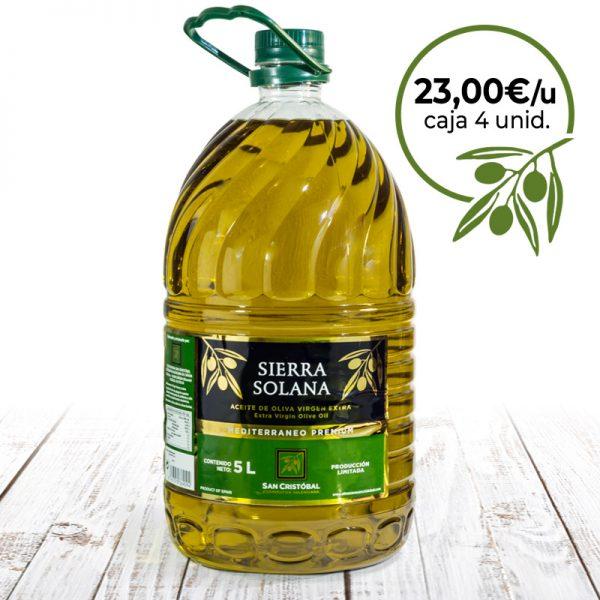 aceite de oliva virgen extra pet 5 litros