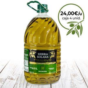 Aceite de oliva virgen extra en packs ahorro