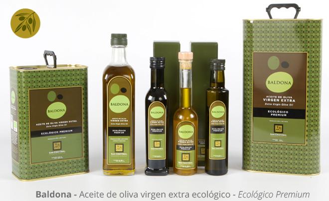 Aceite de oliva ecológico de Alicante