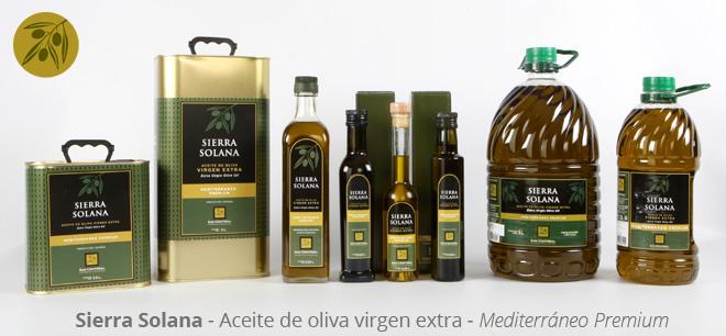 Aceite de oliva virgen extra de Alicante Sierra Solana