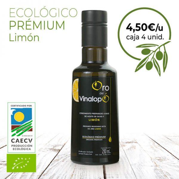 aceite ecológico con limón