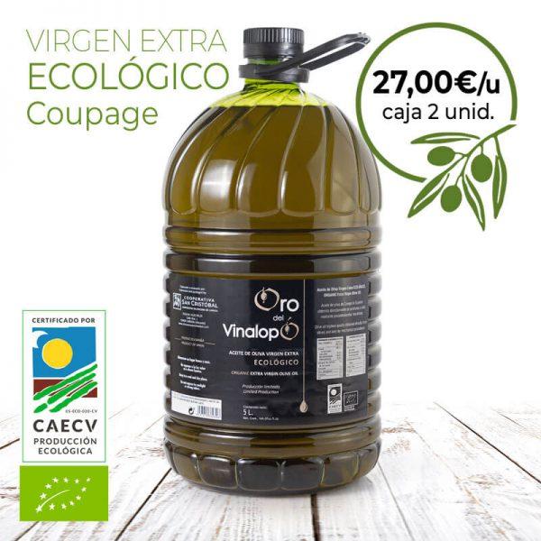 aceite ecologico en pet
