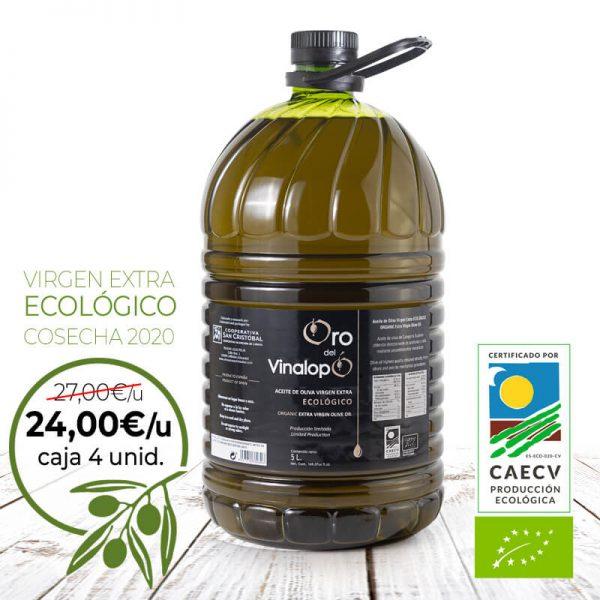 aceite ecológico promoción
