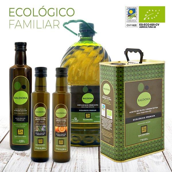 aceite de oliva ecológico familiar baldona
