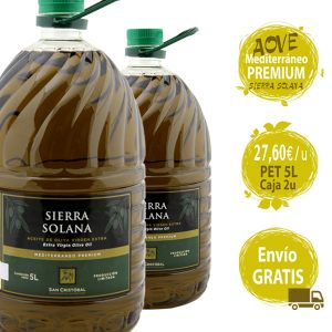 aceite oliva virgen extra cinco litros