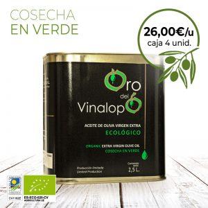 aceite ecologico oro del vinalopó