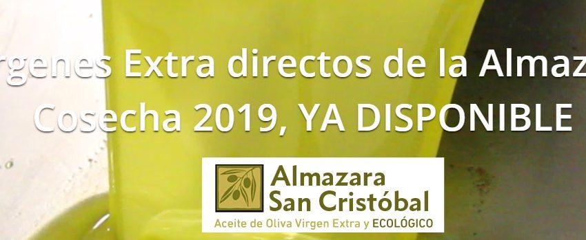 ¡¡Ya tenemos a tu disposición la cosecha de 2019!!