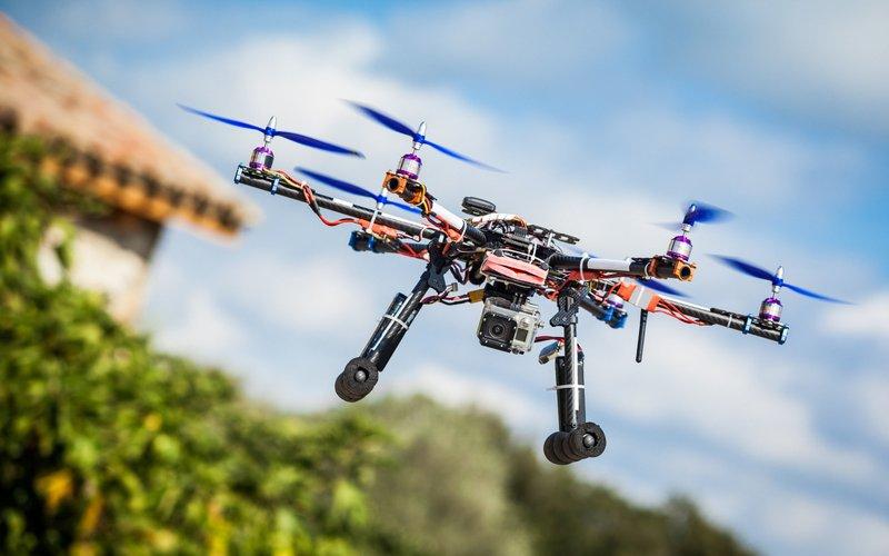 cultivo olivar dron