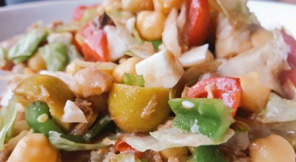 Ensalada variada, fuente de energía y antioxidantes
