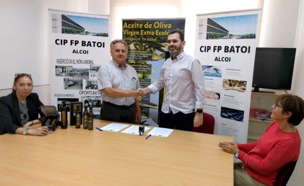 Convenio de colaboración con CIP FP Batoi de Alcoy