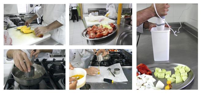 Gazpacho de Mango preparación de la receta