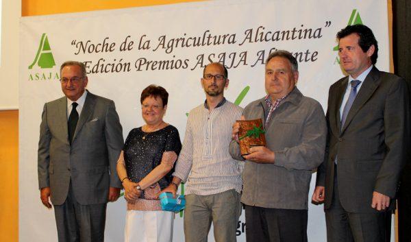 Noche de la Agricultura Alicantina y entrega de Premios ASAJA Alicante
