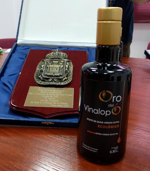 Premio Mejor Aceite de Oliva Utiel