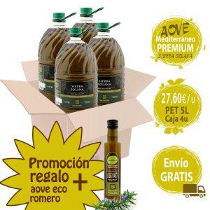 Promoción oferta aceite de oliva +5L