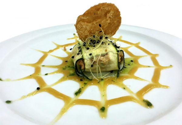 Ravioli de salmón y gambas, receta de CIP FP Batoi de Alcoi