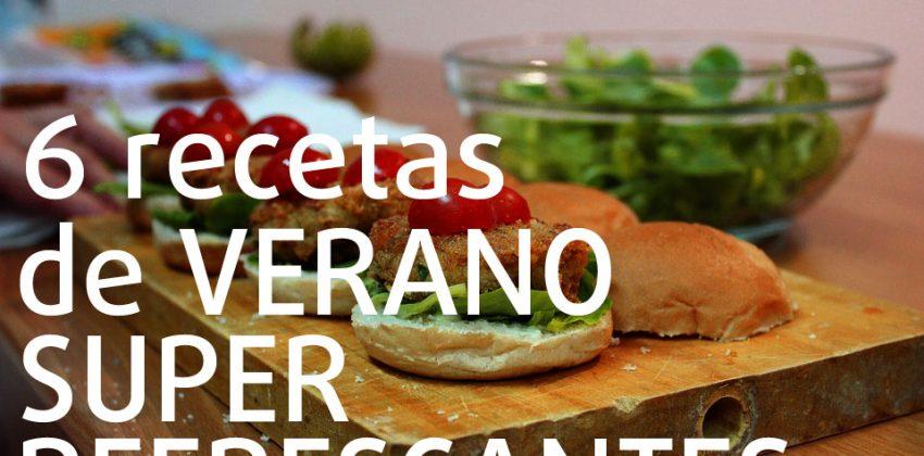 6 recetas de verano frescas y sanas con aceite de oliva