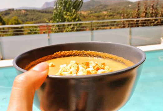 Sopa fría, una receta rápida para cualquier momento del día